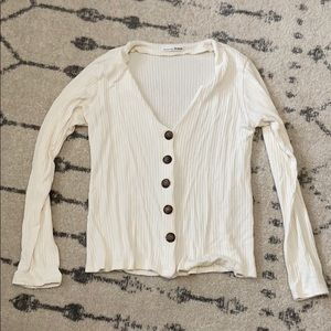 Reformation Button Top